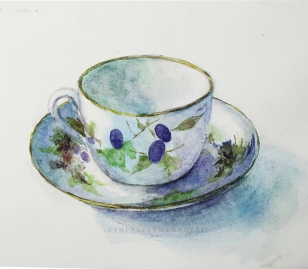 Teacup from Yuko Nakagawa's Book