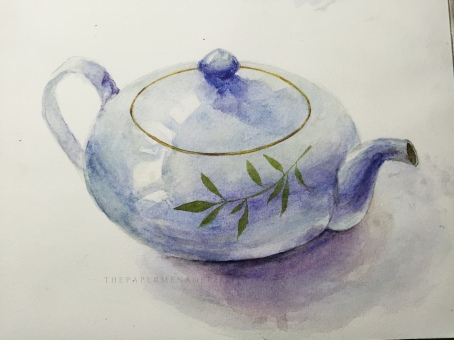 Teapot from Yuko Nakagawa's Book