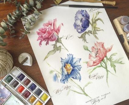 "From ""The Flower Painter's Pocket Palette"""